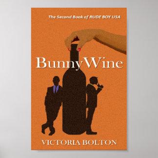 失礼な男の子米国シリーズ- BunnyWineの元の本の入江 ポスター