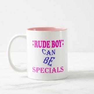 失礼な男の子 ツートーンマグカップ