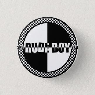 失礼な男の子Pin 3.2cm 丸型バッジ