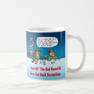 失礼なALFのおもしろいな小妖精や小人のクリスマスのマグ コーヒーマグカップ