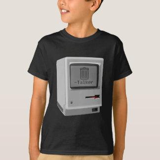 失礼なMacの屑の話者 Tシャツ