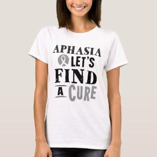 失語症は治療レディースTシャツを見つけるために割り当てます Tシャツ