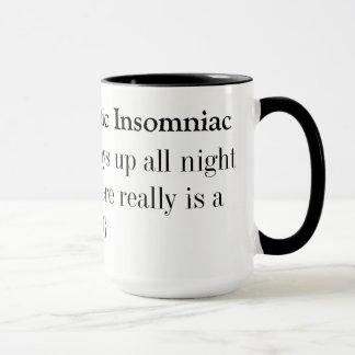 失読症の不可知論的な不眠症患者 マグカップ