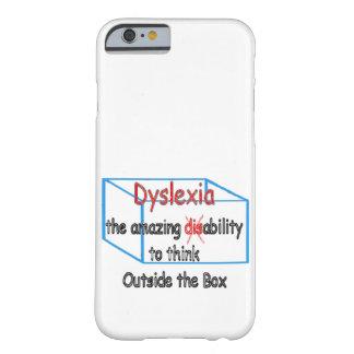 失読症、能力ない不能! BARELY THERE iPhone 6 ケース