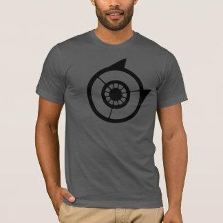 失調症のロゴ及びQRcode T Tシャツ
