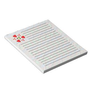 奇妙で多彩で素晴らしいパターン ノートパッド