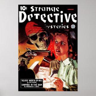 奇妙な探偵のミステリーポスター ポスター