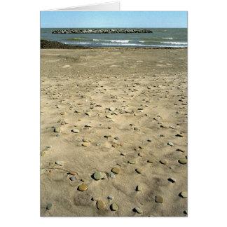 奇妙な石造りのビーチ カード