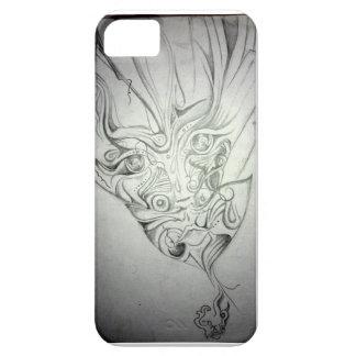 奇妙な顔 iPhone SE/5/5s ケース