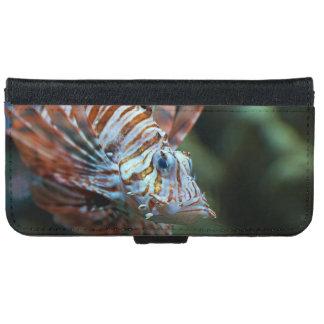 奇妙な魚 iPhone 6/6S ウォレットケース