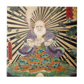 奇術師、Toyokuni、Ukiyo-e、豊国の手品師 タイル