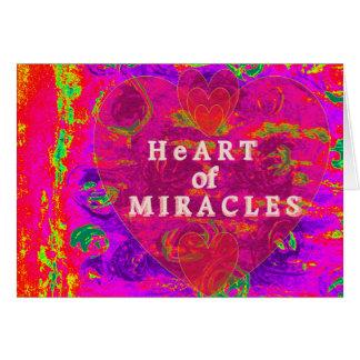 奇跡のハート カード