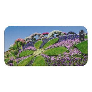奇跡の庭、ドバイの花 iPhone 5 ケース