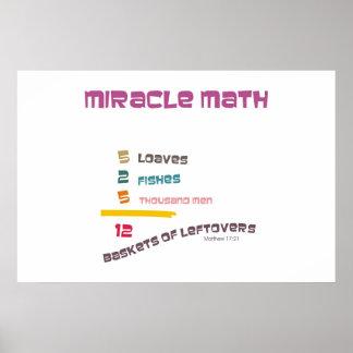 奇跡の数学 ポスター