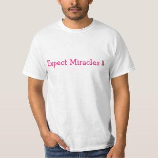 奇跡のTシャツを期待して下さい Tシャツ