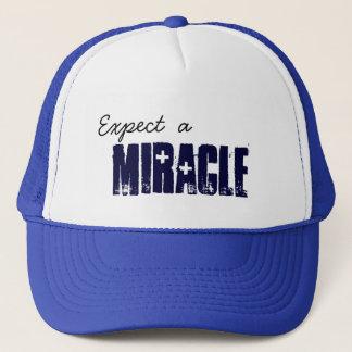 奇跡を期待して下さい キャップ