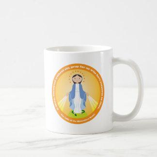 奇跡的なメダルの私達の女性 コーヒーマグカップ