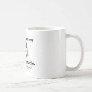 契約の弁護士を再使用して下さい コーヒーマグカップ