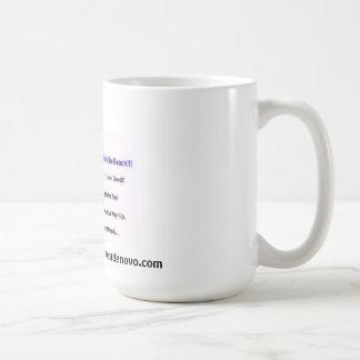 契約の海のレベルはビーチです! (t) m コーヒーマグカップ