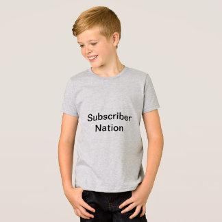 契約者の国家 Tシャツ
