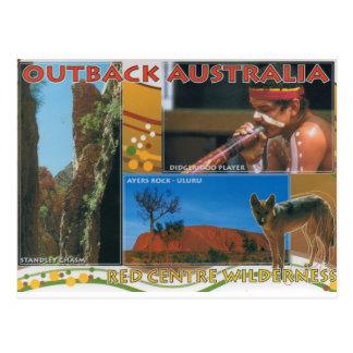 奥地にオーストラリア ポストカード