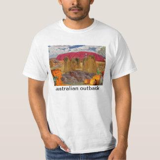 奥地にOZのオーストラリア人の反射 Tシャツ