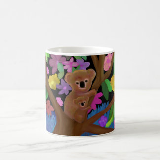 奥地のマグのコアラ コーヒーマグカップ