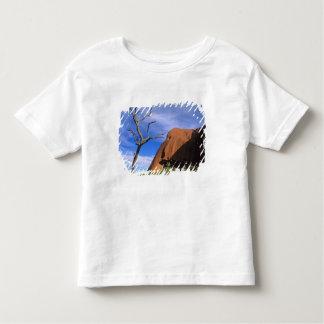 奥地オーストラリアのAyersの石Uluru トドラーTシャツ