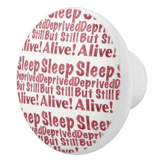 奪い取られる睡眠しかしまだラズベリーで生きた セラミックノブ