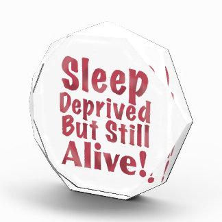 奪い取られる睡眠しかしまだラズベリーで生きた 表彰盾