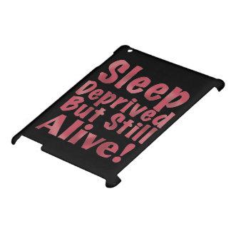 奪い取られる睡眠しかしまだラズベリーで生きた iPadケース
