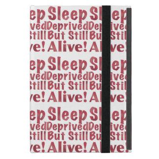 奪い取られる睡眠しかしまだラズベリーで生きた iPad MINI ケース