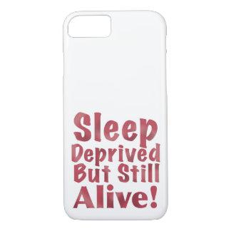 奪い取られる睡眠しかしまだラズベリーで生きた iPhone 8/7ケース