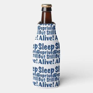 奪い取られる睡眠しかしまだ濃紺で生きた ボトルクーラー