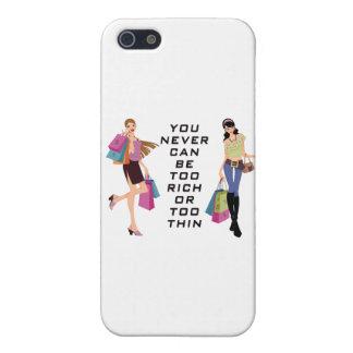 女の子のおもしろいの時間行く買物をするiPhpone 5Cases iPhone 5 Case