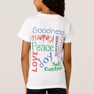 女の子のための純粋なフルーツのダイエット(色) Tシャツ