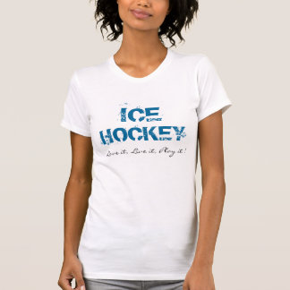 女の子のアイスホッケーのTシャツ Tシャツ