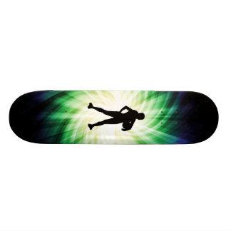 女の子のアスリート; カッコいい スケートボード