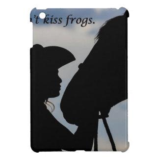 女の子のキスをするな馬 iPad MINIカバー