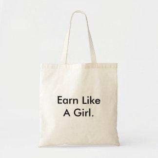 女の子のクラシックのトートのように得て下さい トートバッグ