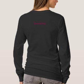 女の子のゲーマー、XboxLiveLounge.Comのブーム! … Headshot. Tシャツ