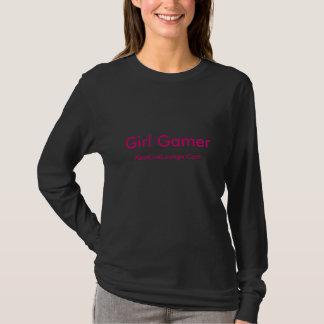 女の子のゲーマー、XboxLiveLounge.Com Tシャツ