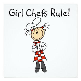 女の子のシェフの規則 カード