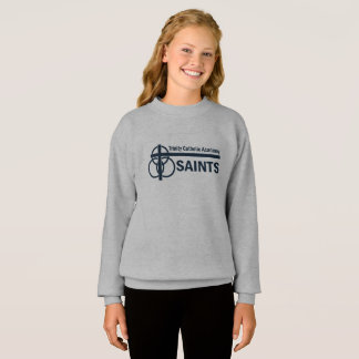 女の子のスエットシャツ: トリクロロ酸の聖者 スウェットシャツ