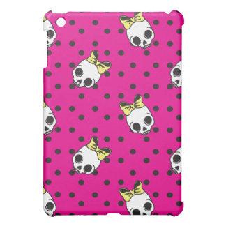 女の子のスカル iPad MINIカバー