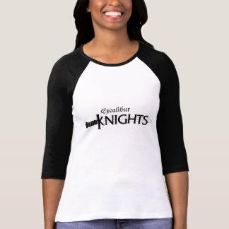 女の子のソフトボールのワイシャツ Tシャツ