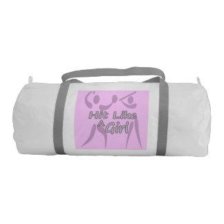 女の子のソフトボールのDuffleバッグ ジムバッグ