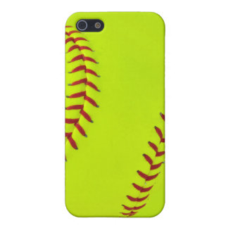 女の子のソフトボールのiPhone 5/5sの場合 iPhone 5 カバー