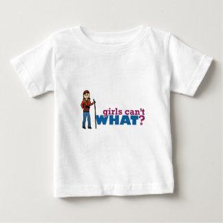 女の子のハイキング ベビーTシャツ