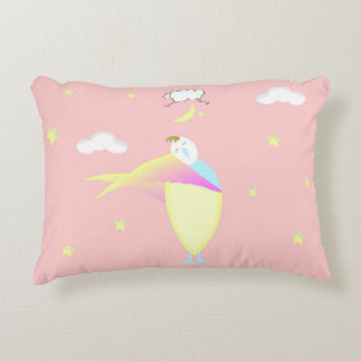 女の子のピンクの眠い時間ベッド枕 アクセントクッション